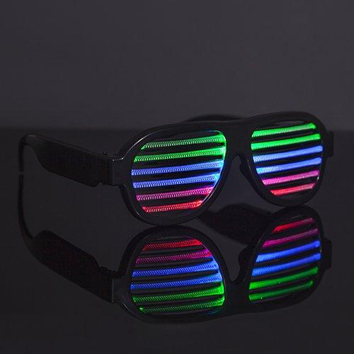 Очки звукочувствительные, с индивидуальной подсветкой Thumbsup