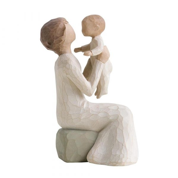 Парная фигурка Enesco «Бабушка с внуком»