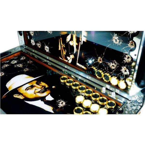 Подарочные металлические нарды «Аль Капоне»