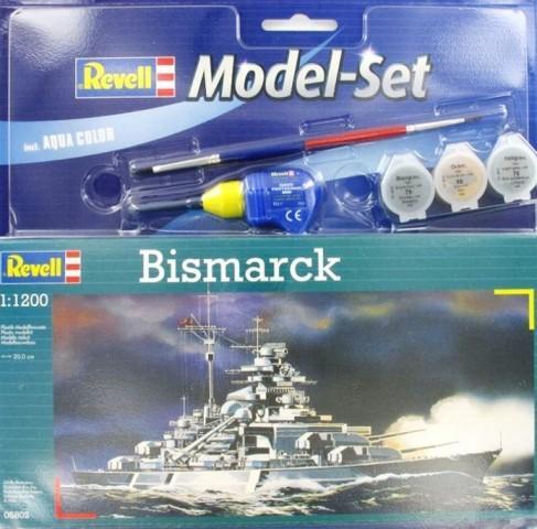 Подарочный набор с кораблем «Bismarck» Revell