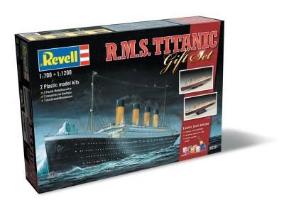Подарочный набор с кораблем «Титаник» Revell