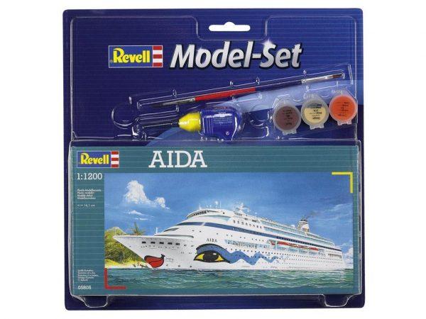 Подарочный набор с круизным кораблем «Aida» Revell