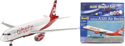 Подарочный набор с самолетом «Airbus A320 Air Berlin» Revell