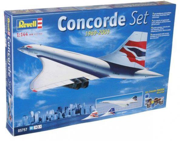 Подарочный набор с самолетом «Concorde» Revell