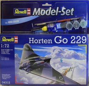 Подарочный набор с самолетом «Horten Go 229» ТМ Revell