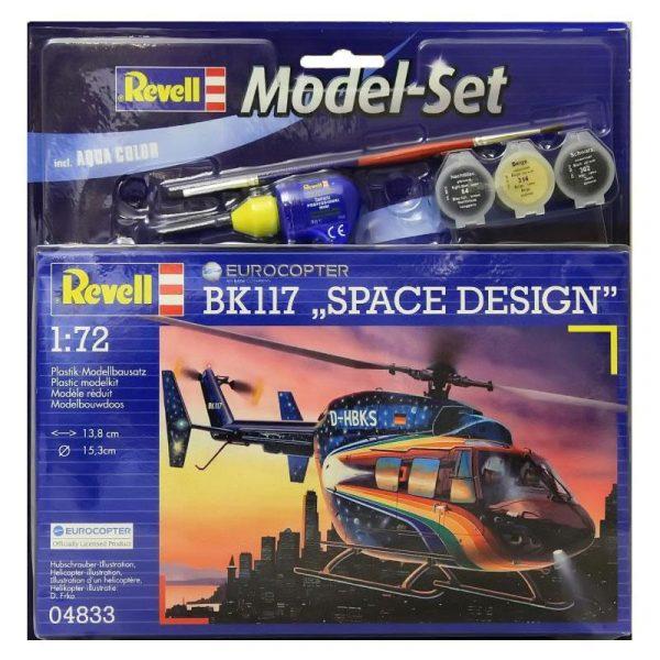 Подарочный набор с вертолетом Eurocopter BK 117 «Space Design» ТМ Revell