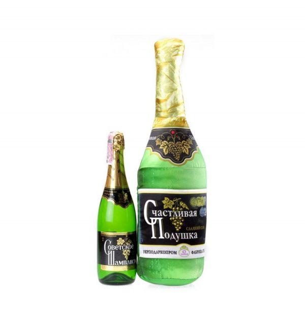 Подушка «Счастливое шампанское»