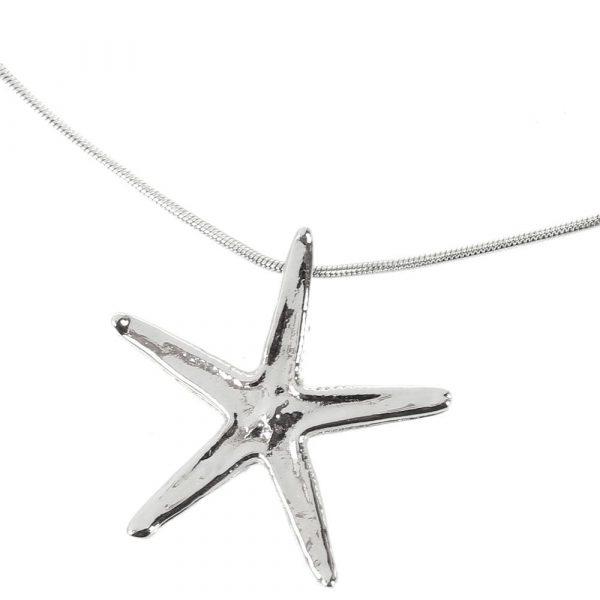 Подвеска «Морская звезда» Ester Bijoux Star Fish в серебре