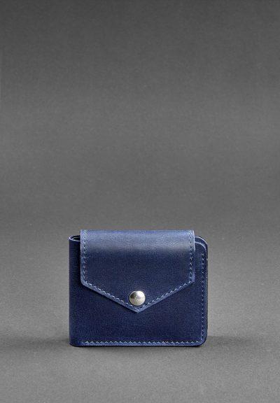 Портмоне «Ночное небо 4.2» BlankNote (4 кармана, кнопка)