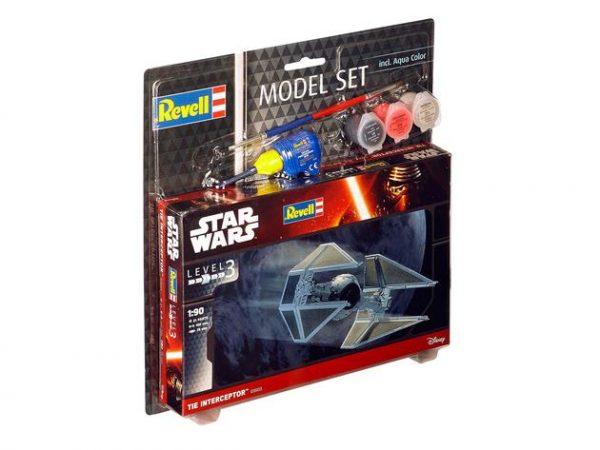 Сборная модель из серии «Звездные войны». Космический корабль «TIE Interceptor» Revell