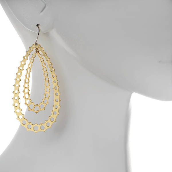 Серьги Armadoro Jewelry в форме капельки