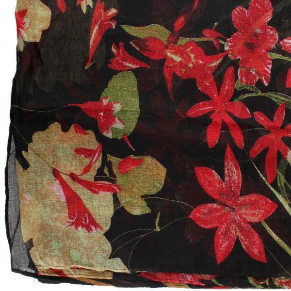 Шарф Tosca Blu «Bonet» с цветочным принтом