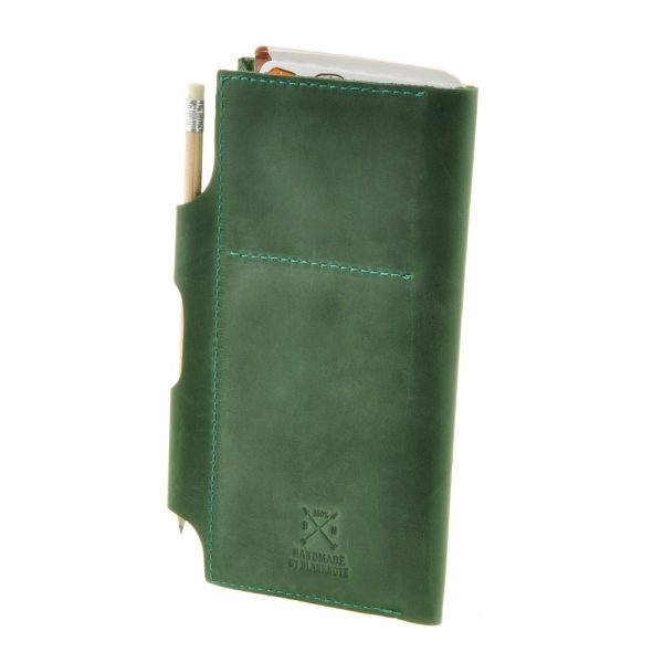Тревел-кейс портмоне с мандалой (изумруд) BlankNote
