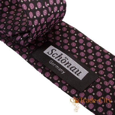 Узкий мужской галстук SCHONAU & HOUCKEN