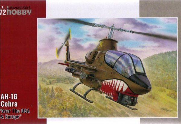 Вертолет AH-1G Cobra «Over The USA and Europe» Special Hobby
