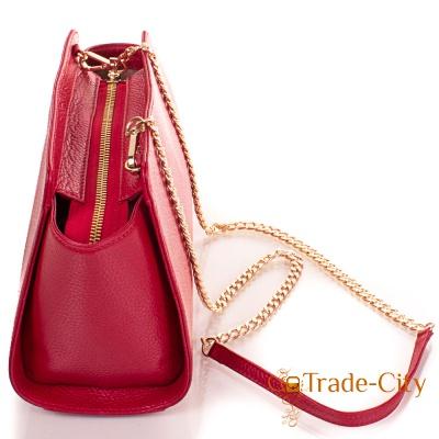 Женская кожаная сумка-клатч VALENTA (ВАЛЕНТА)