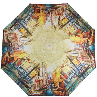 Зонт женский полуавтомат «Венеция» ZEST (ЗЕСТ)