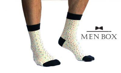 Белые носки украинского производства CARTELL