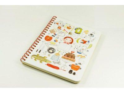 Блокнот — кулинарная книга «Учусь готовить»