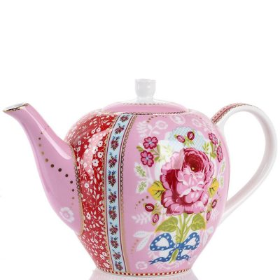 Чайник Pip Studio «Floral» (розовый 1,6 л)