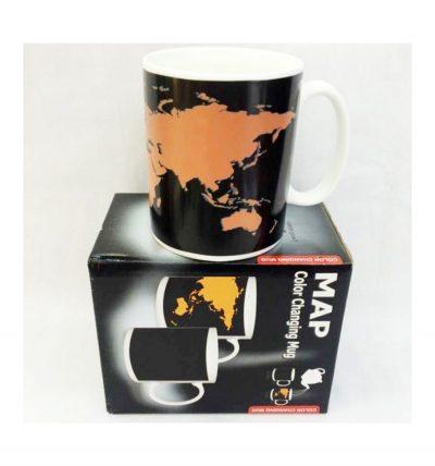 Чашка «Карта мира»