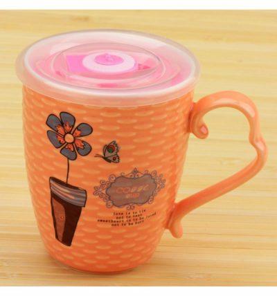 Чашка заварочная «Цветок с таймером»