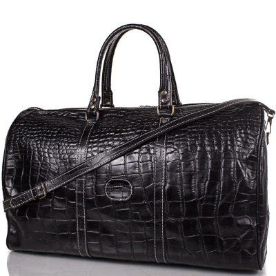 Дорожная мужская сумка DESISAN (из натуральной кожи)