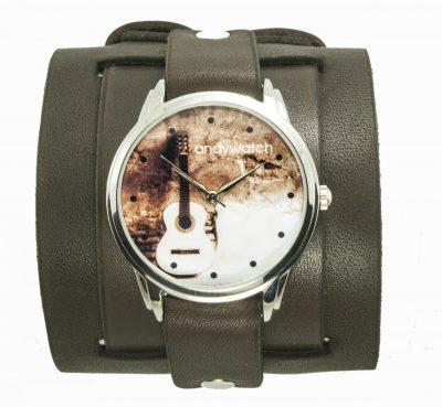 Эксклюзивные наручные часы AndyWatch «Гитара акустика»