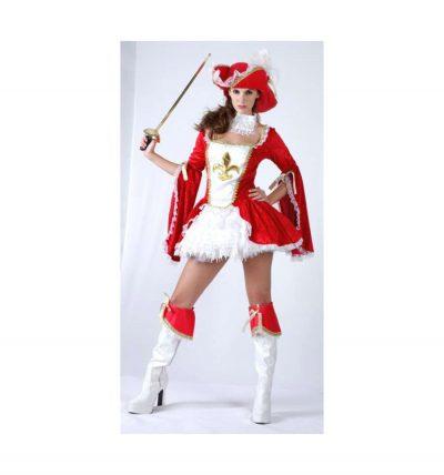 Карнавальный костюм «Мушкетерка»