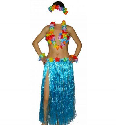 Костюм гавайский с длинной юбкой