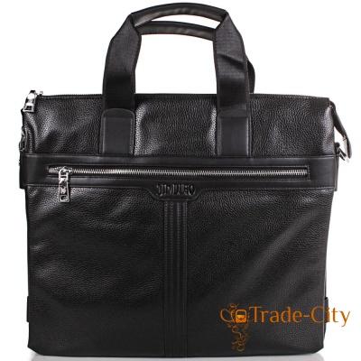 Мужская сумка из качественного кожзаменителя BONIS