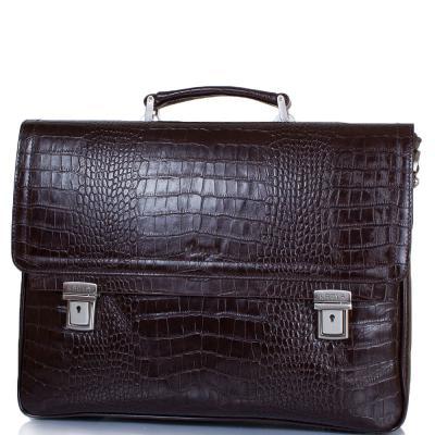 Мужской кожаный портфель KARYA
