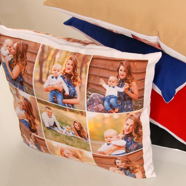Оригинальная подушка с вашим фото
