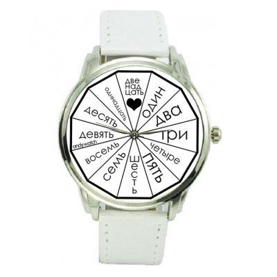Оригинальные наручные часы Andy Watch «Letters style»