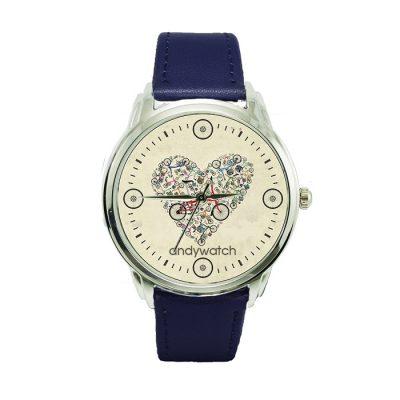 Оригинальные наручные часы «Любовь и велосипеды» Andy Watch