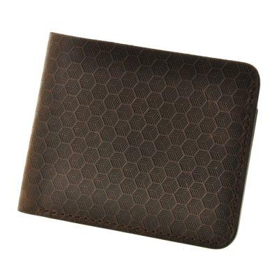 Портмоне 4.1 (4 кармана) «Карбон» BlankNote (орех)