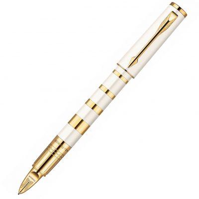 Ручка 5го поколения Parker «Ingenuity Slim Pearl and Metal GT»
