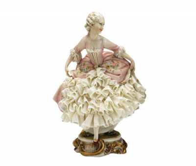 Статуэтка «Дама» Porcellane Principe