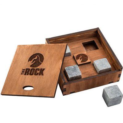 Камни для виски The Rock в подарочной коробке