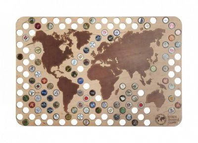 Оригинальная карта Capsboard World