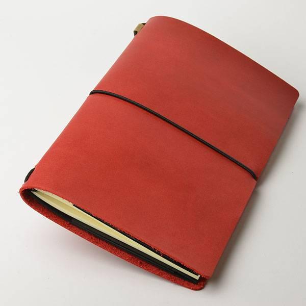 Блокнот из кожи Egolibro (красный)