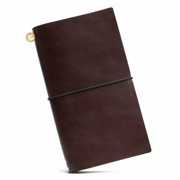Блокнот из кожи Manekibook «Brown»