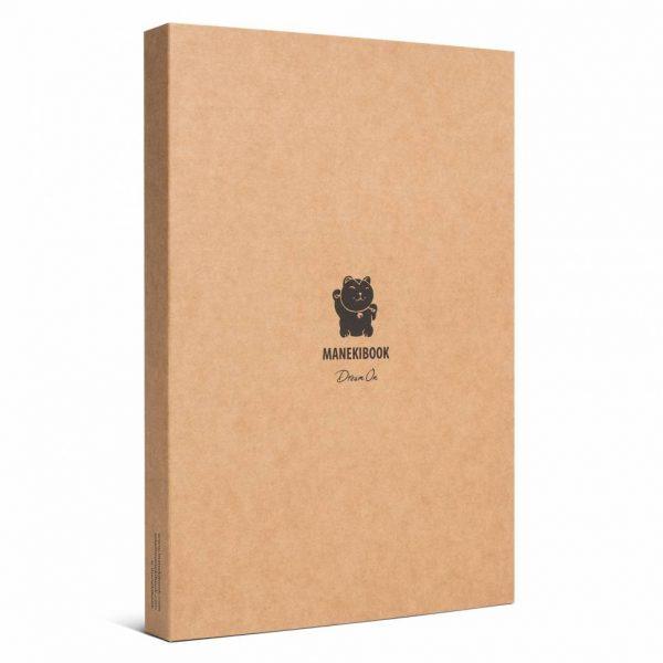 Блокнот из кожи ManekiBook «Nero»