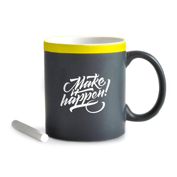 Чашка с мелом Gifty Make It Happen
