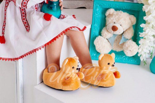 Детские домашние тапочки «Медведи»