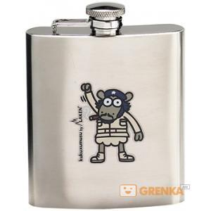 Фляга Laken «Kukuxumusu hip flask Ernesto» (180 ml)