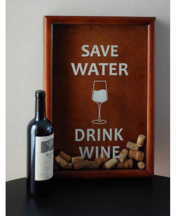 Копилка для винных пробок