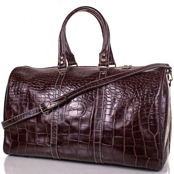 Кожаная мужская дорожная сумка DESISAN