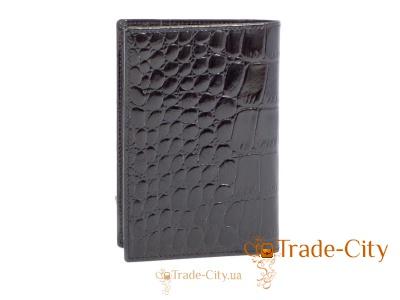 Кожаная мужская обложка для паспорта WANLIMA (ВАНЛИМА)