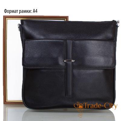 Мужская кожаная сумка ETERNO (black)